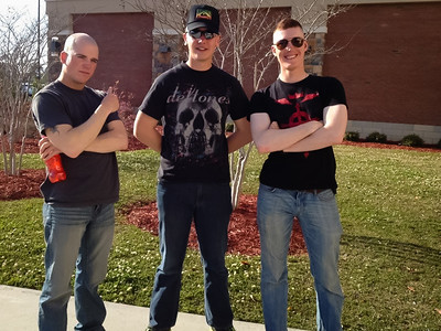 Riley and his boys fromBravo Company April 6, 2012 NC